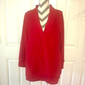 Nick & Nora Fleece Sleepwear Sweater 2XL